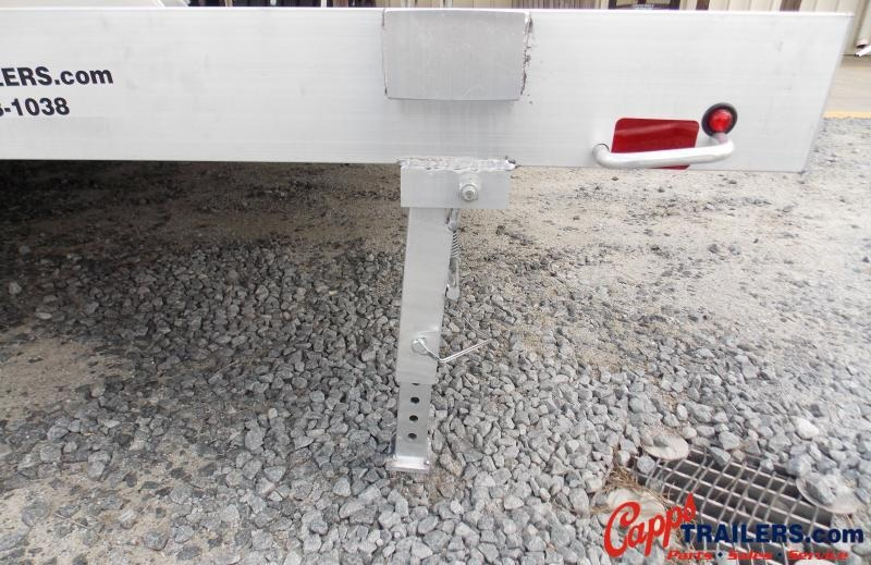 2021 Aluma AL 8218TA-EL-R-RTD Utility Trailer
