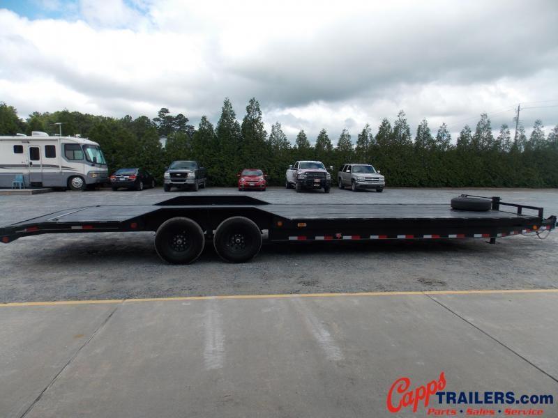 2021 PJ Trailers PJ B8J3072BSBK Equipment Trailer