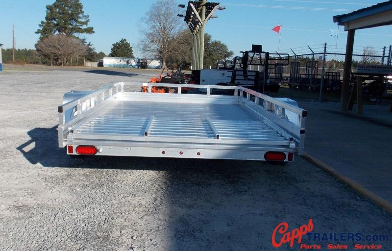 2021 Aluma 7810ESA-S-TG LADDER RACK Utility Trailer