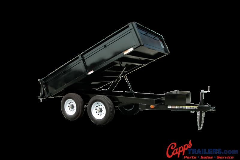 2019 Carry-On CO 6X10DUMPDO10K-24HS Dump Trailer