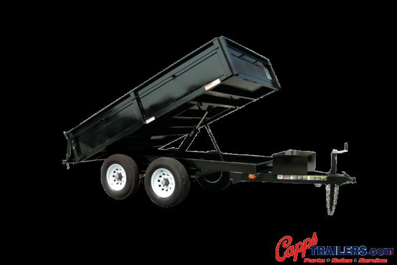 2020 Carry-On CO 6X10DUMPDO10K-24HS Dump Trailer