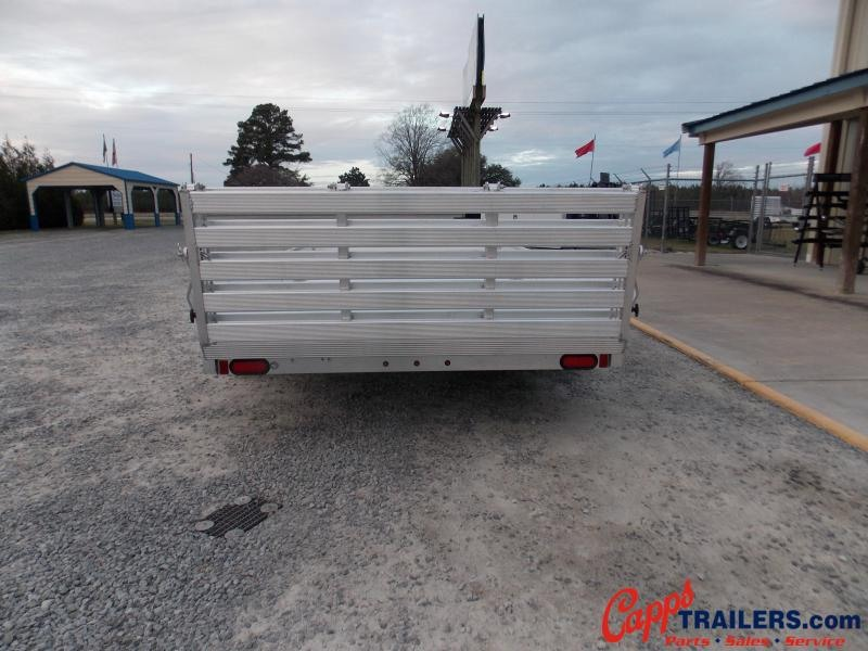 2021 Aluma 8112S-R-BT-SR Utility Trailer