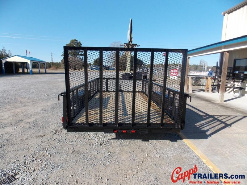 2021 Carry-On CO 6x14GWHS1BRK Utility Trailer