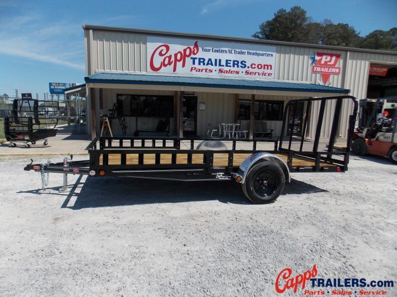 2021 PJ Trailers U821431DSFKA Utility Trailer
