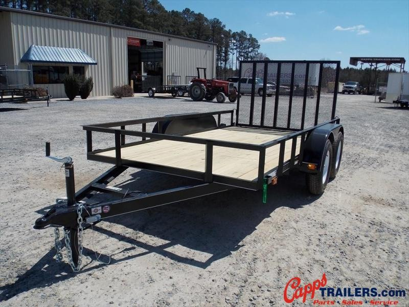 2020 Carry-On CO 6X12GW1BRK Utility Trailer