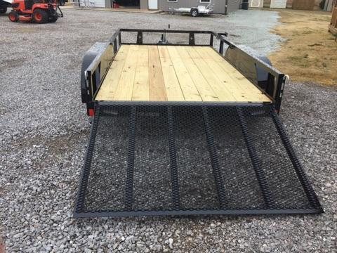 2018 Rice TD7612 Utility Trailer