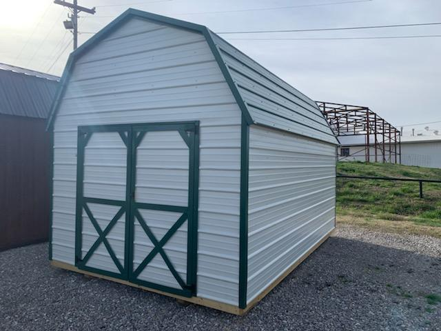 2022 Derksen 10x16 Metal Sheeted Lofted Barn