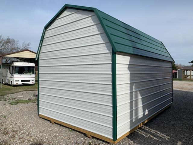 2022 Derksen 10x16 Metal Sheeted Lofted Barn