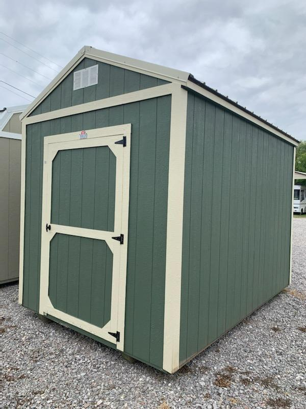 2022 Derksen Extra Height Utility Shed