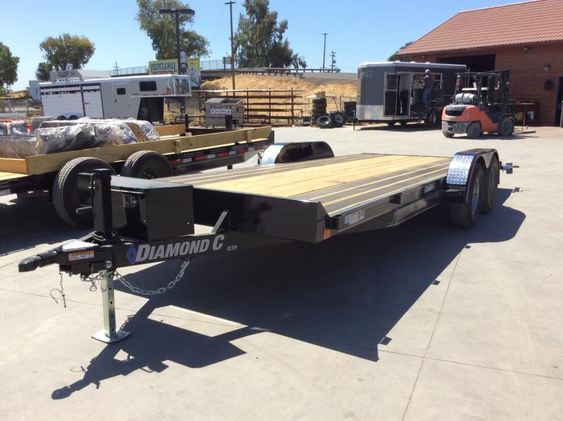 "NEW 2020 Diamond C Trailers GTF235 L20ft x 83"" Car / Racing Trailer"