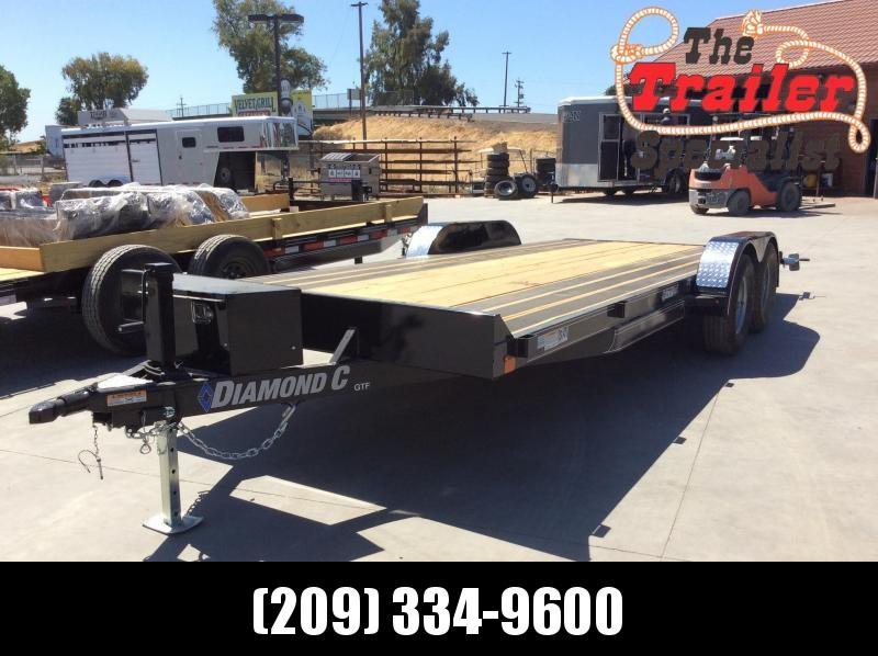 "NEW 2020 Diamond C Trailers GTF235 L20ft x 83"" Car / Racing Trailer"