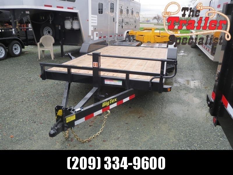 New 2020 Big Tex 14ET-16MR Equipment Trailer 7X16 14K