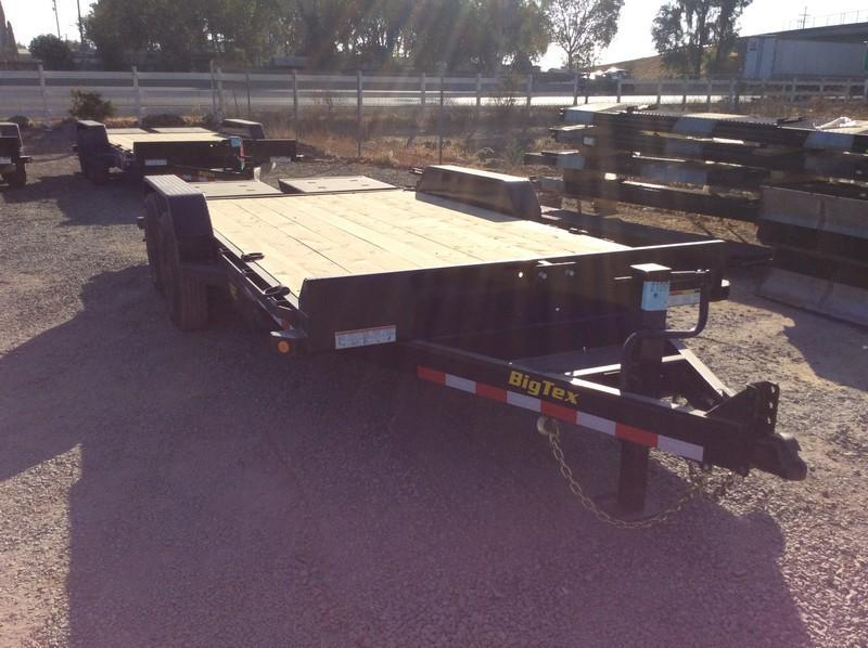 New 2021 Big Tex 14ET-16MR Equipment Trailer 7X16 14K