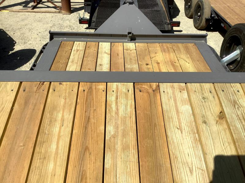 "NEW 2021 Midsota TBWB-24 102"" x 24' 17600 GVW Equipment Trailer"