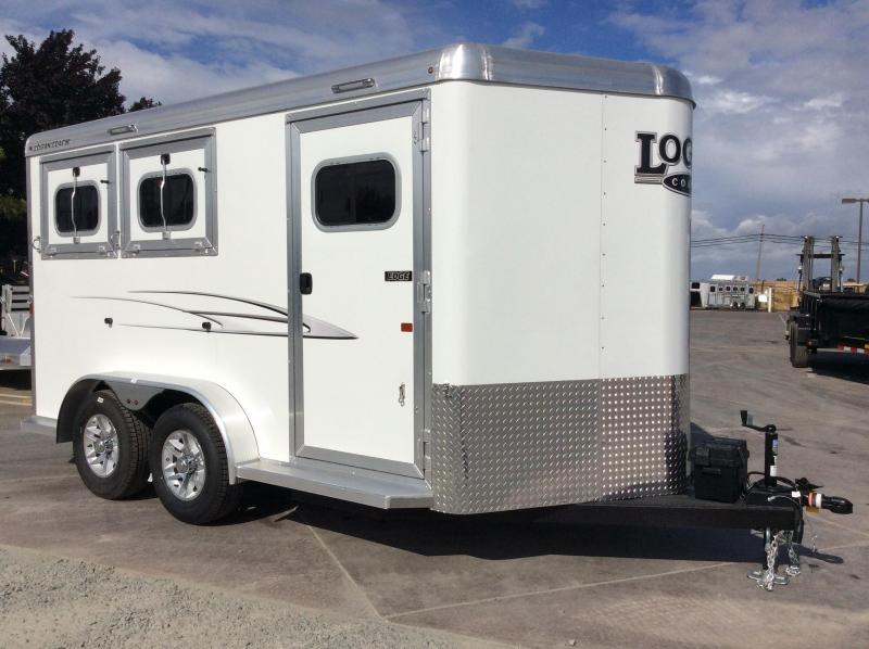 NEW 2020 Logan Coach 2 Horse EDGE BP Horse Trailer