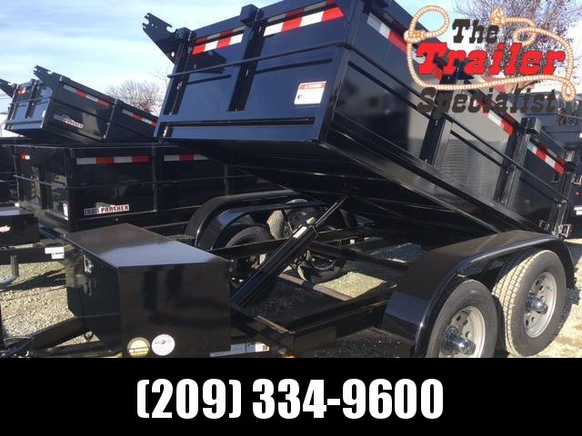 New 2021 Five Star DT064 5' x 8' 7K GVW Dump Trailer