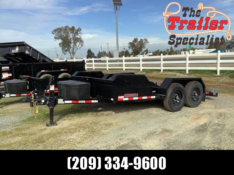 NEW 2021 Midsota SL-14 80' x 14' 15400 GVW Equipment Trailer