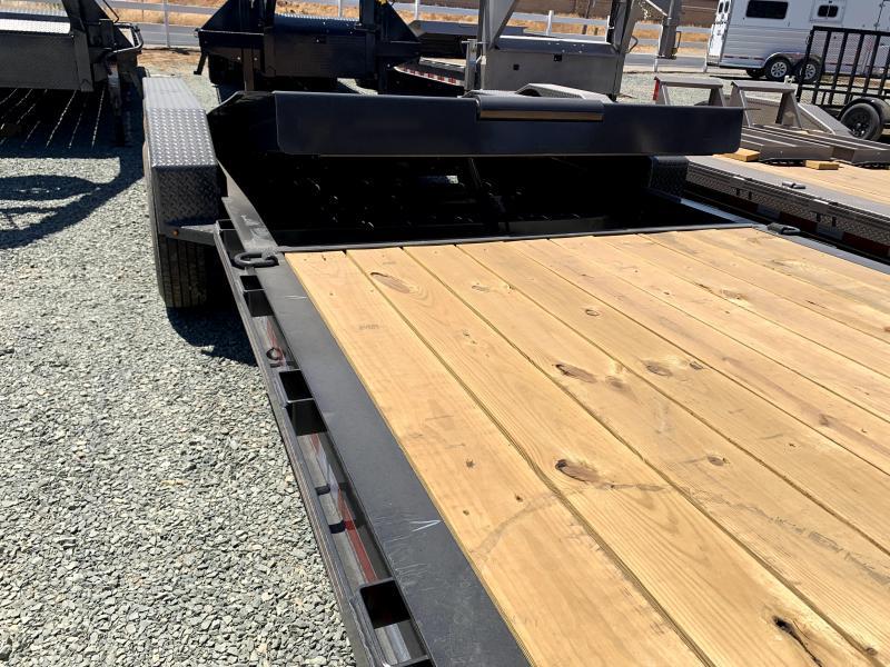 "NEW 2021 Diamond C Trailers HDT307L 82"" x 26' Hydraulically Dampened Tilt Equipment Trailer"