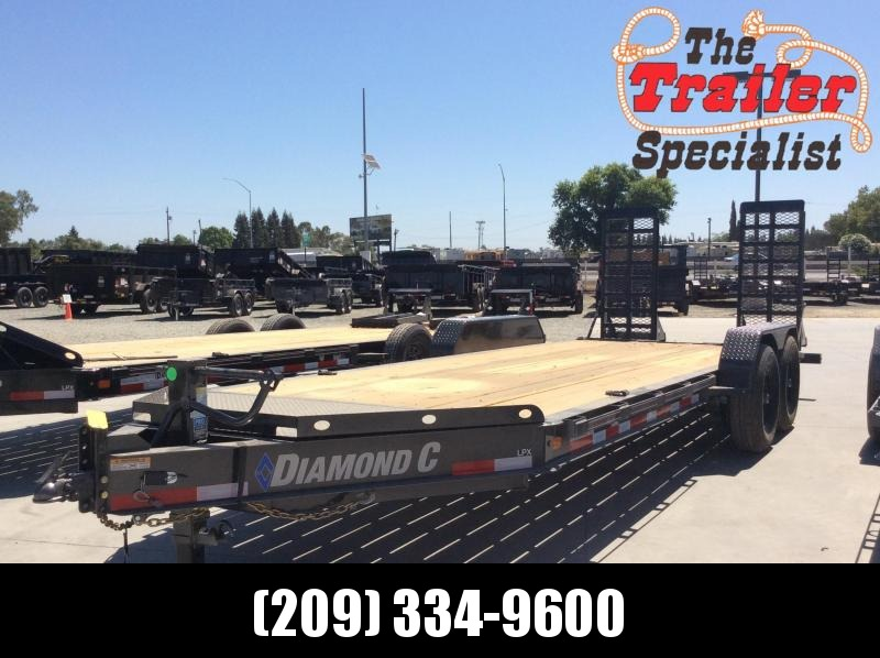 "NEW 2020 Diamond C Trailers LPX207 L20ft x 82"" Low Pro Extreme Heavy Duty Equipment Trailer"
