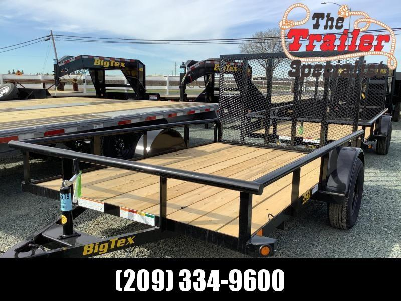 NEW 2021 Big Tex Trailers 35SA-10 7' X 10' 2995 GVW Utility Trailer