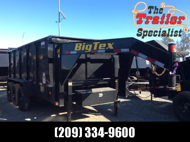 "New 2020 Big Tex 21GX-16P4 83""x16 21000 GVW Dump Trailer"