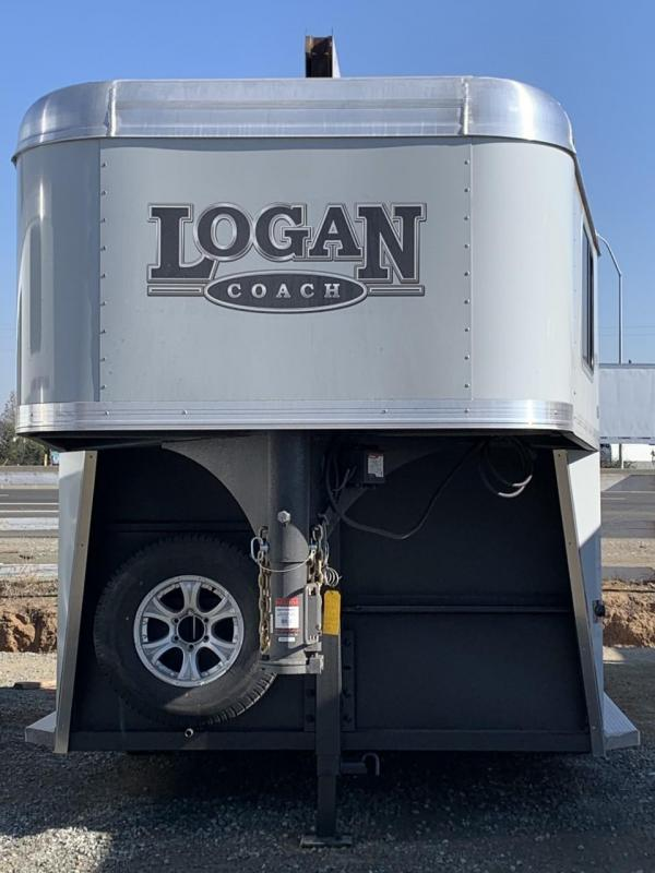 NEW 2021 Logan Coach Riot 2H GN Horse Trailer *PICS SOON*