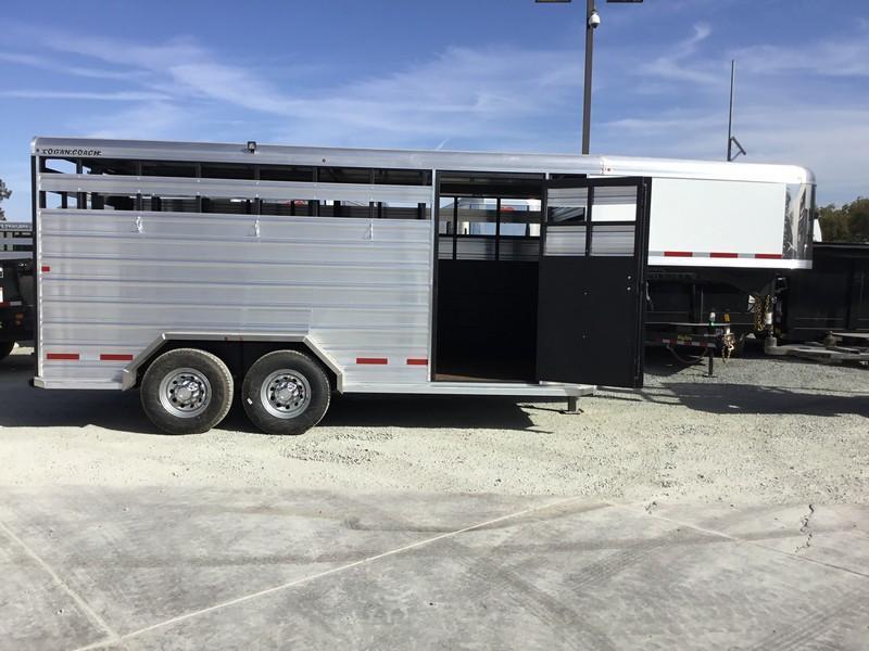 New 2019 Logan Stockman 16' GN Livestock Trailer