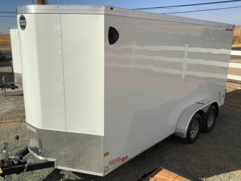 NEW 2022 Wells Cargo Road Force V 7 x 16 7k GVW Enclosed Cargo Trailer