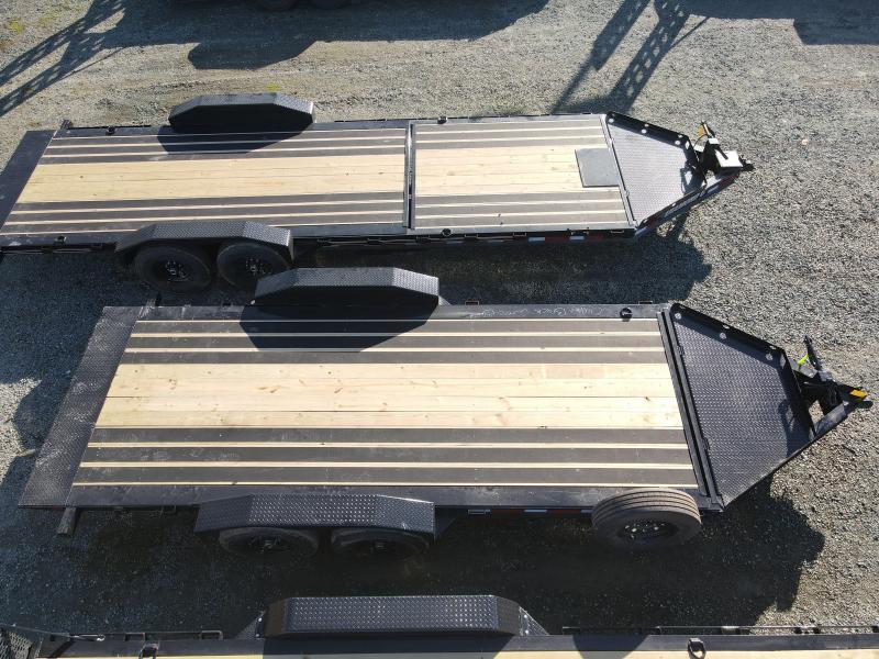 "NEW 2021 Diamond C Trailers HDT207-L 18' X 82"" Equipment Trailer"