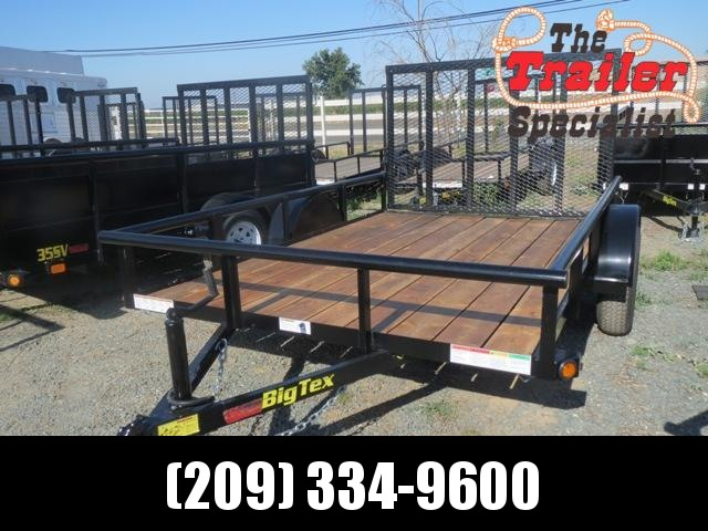 NEW 2021 Big Tex Trailers 35SA-10 6.5X10 2995 GVWR Utility Trailer