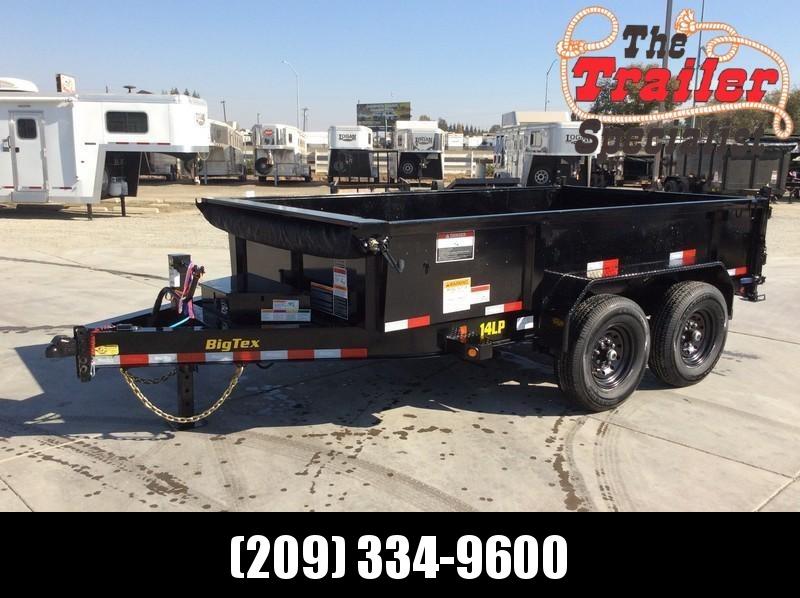 New 2021 Big Tex 14LP-12 7' x 12' 14k GVW Low Profile Dump Trailer