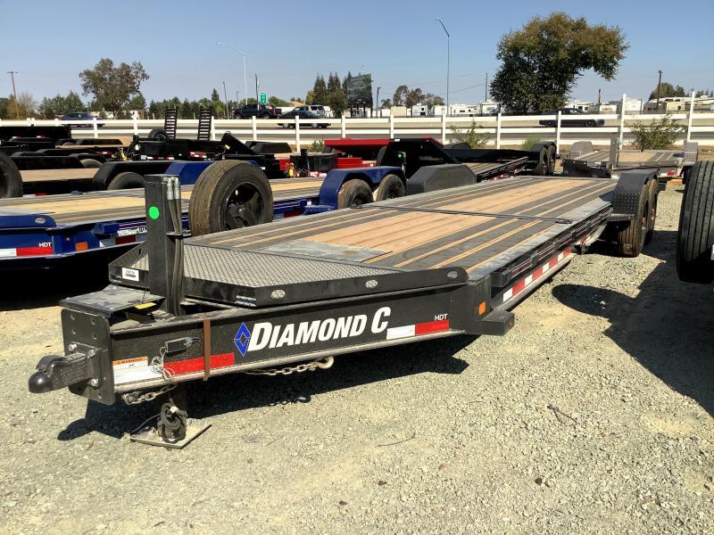 NEW 2021 Diamond C Trailers HDT208L 7' x 26' 18k GVW Equipment Trailer