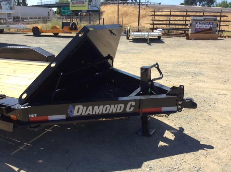 "NEW 2020 Diamond C Trailers low pro Tilt HDT207L 16ft x 82"" Equipment Trailer"