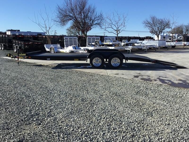New 2020 Big Tex  70DM-20 7x20 Car/Racing Trailer
