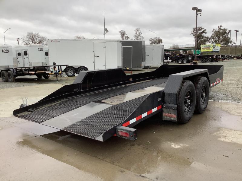 "NEW 2021 Midsota SL-18 80"" x 18' 15400 GVW Equipment Trailer"