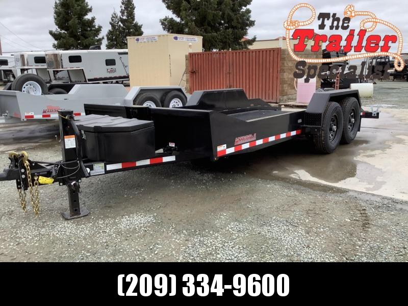 "NEW 2021 Midsota SL-18 80"" x 18' 15400 GVW Equipment Trailer"