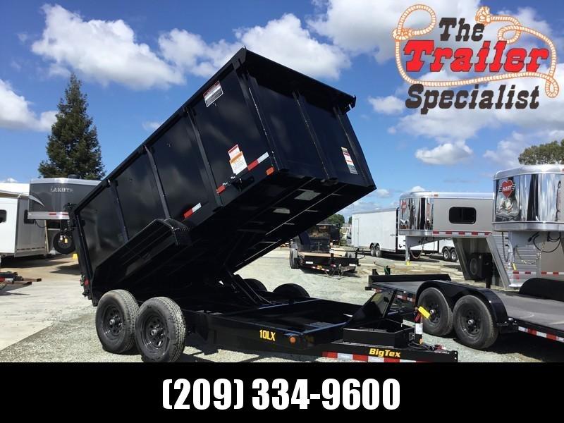 2021 Big Tex Trailers 10LX-12P4 7' x 12' 9990 GVWR Dump Trailer