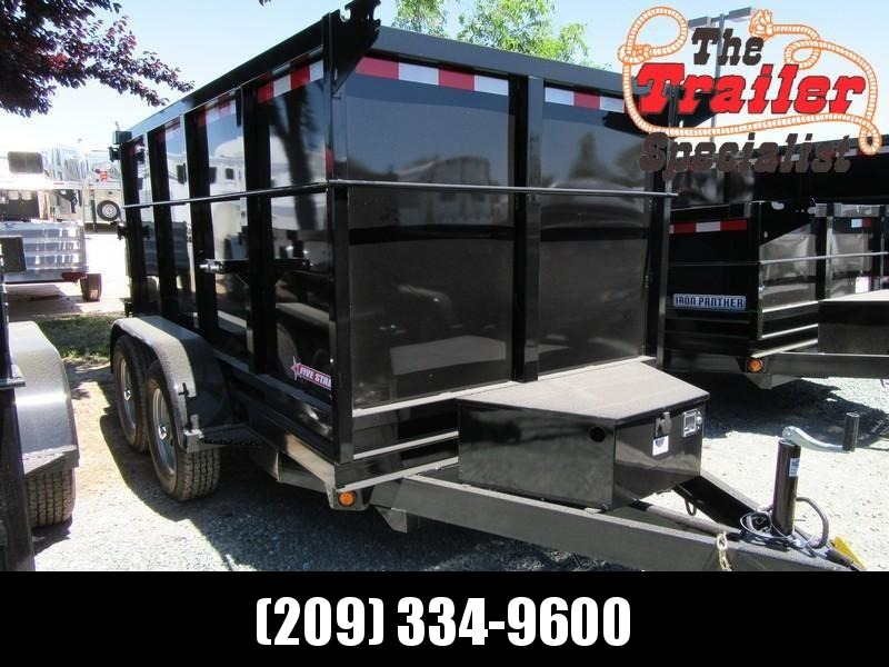 New 2021 Five Star DT098 5' x 10' 7k GVW Dump Trailer