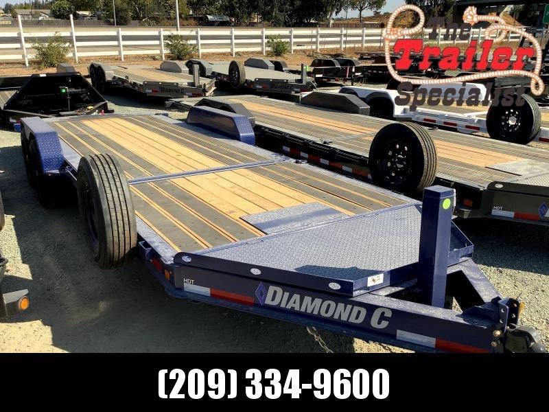NEW 2022 Diamond C Trailers HDT207L 7 x 22' 14900 GVW Equipment Trailer