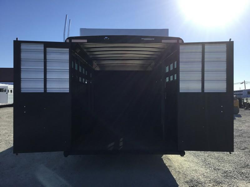 NEW 2019 Logan Coach Select 14 ft Stock Combo 14 ft LQ Livestock Trailer