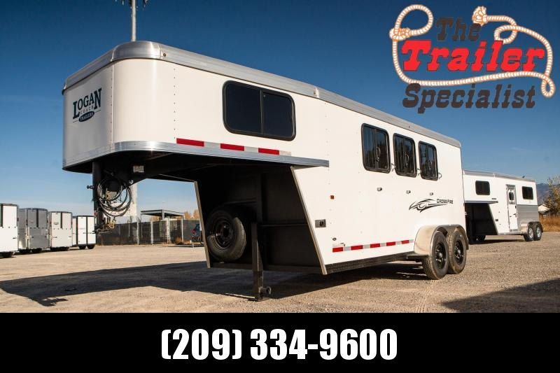 NEW 2021 Logan Coach 4H Crossfire GN Horse Trailer