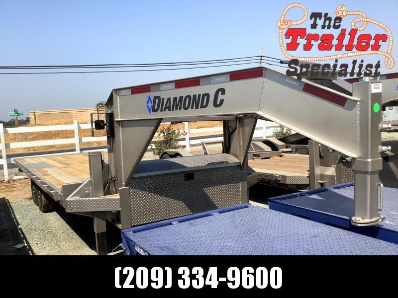 "NEW 2022 Diamond C Trailers DET207L 102"" x 24' 14900 GVW Equipment Trailer"