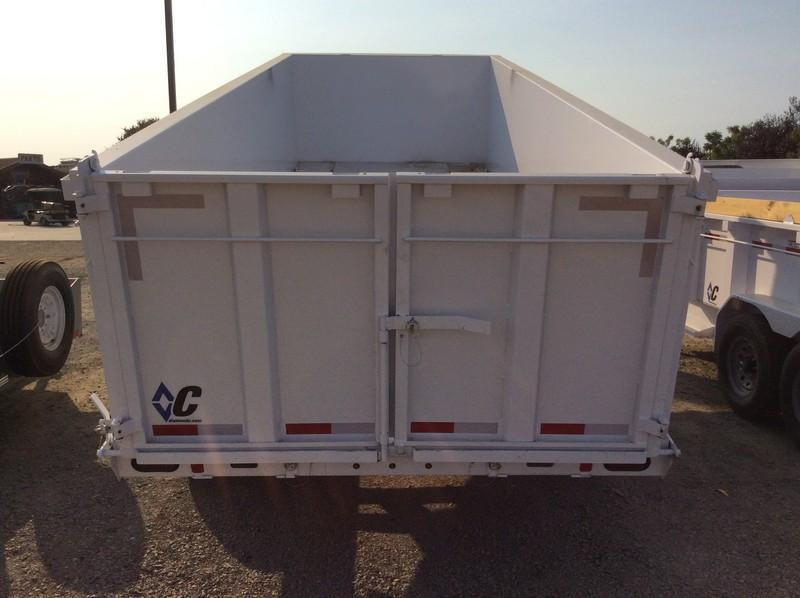 NEW 2021 Diamond C Trailers 7x18 20K GVWR LPD210 Dump Trailer