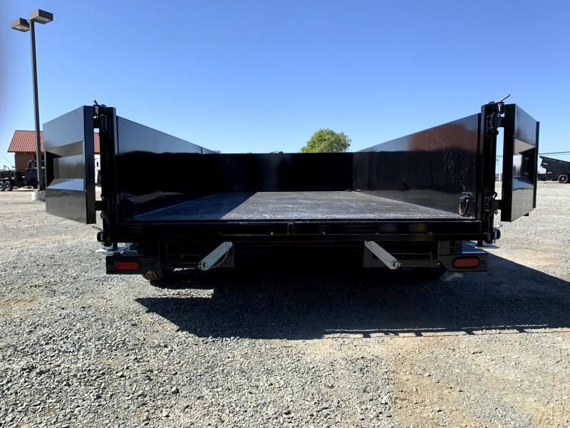 NEW 2021 Midsota HV-14 7' x 14' 15400 GVW Dump Trailer