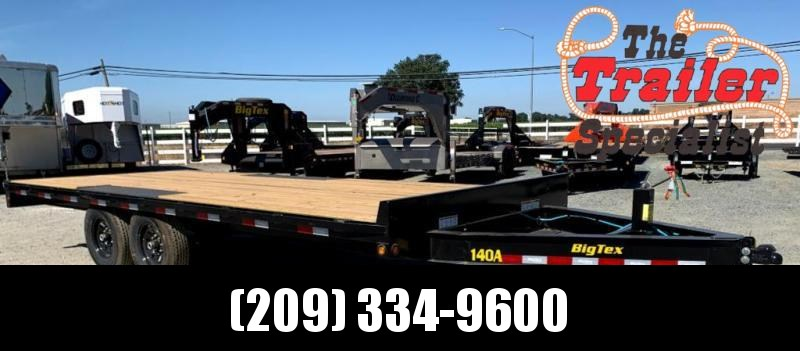 "NEW 2022 Big Tex Trailers 14OA-20-8SIR 102"" x 20 14K GVW Duty Over-The-Axle Equipment Trailer"