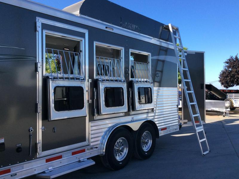 NEW 2021 Lakota 3 Horse Charger 13ft LQ Horse Trailer