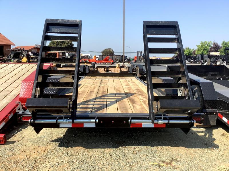 NEW 2022 Midsota ST-18 7' x 18' 15400 GVW Equipment Trailer