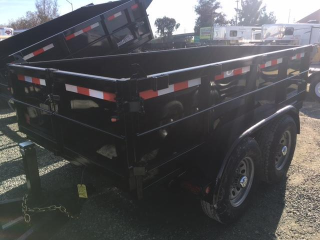 New 2021 Five Star DT255 5x10 10K GVW Dump Trailer