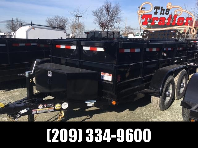 New 2021 Five Star DT255 5x10 10K GVW Dump Trailer