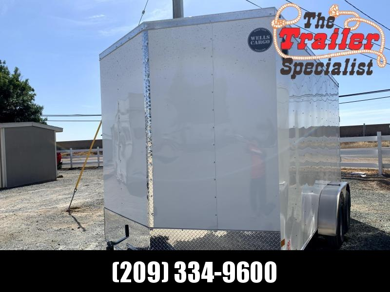 NEW 2021 Wells Cargo FT714T2-D FasTrac 7' x 14' 7k Enclosed Cargo Trailer